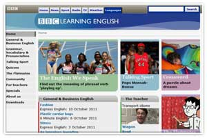 Learning English BBC portal
