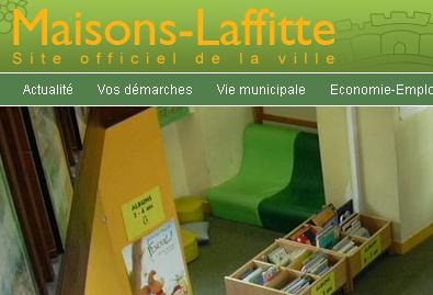 Website Library Maisons-Laffitte