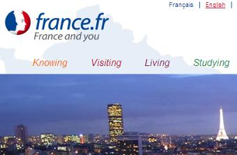 Link to France.fr portal with Schooling information