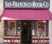 Front of the San Francisco Bookstore in Paris