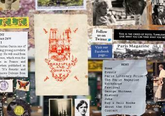 Shakespeare & Company home page view