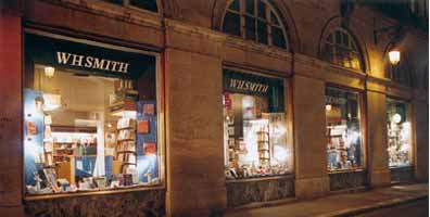 English Bookshop Paris Rivoli WHSmith