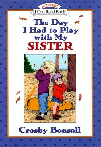 The day I had to play with my sister, book cover (fair copyright use)